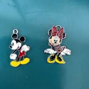 Mickey And mini mouse  charm  new